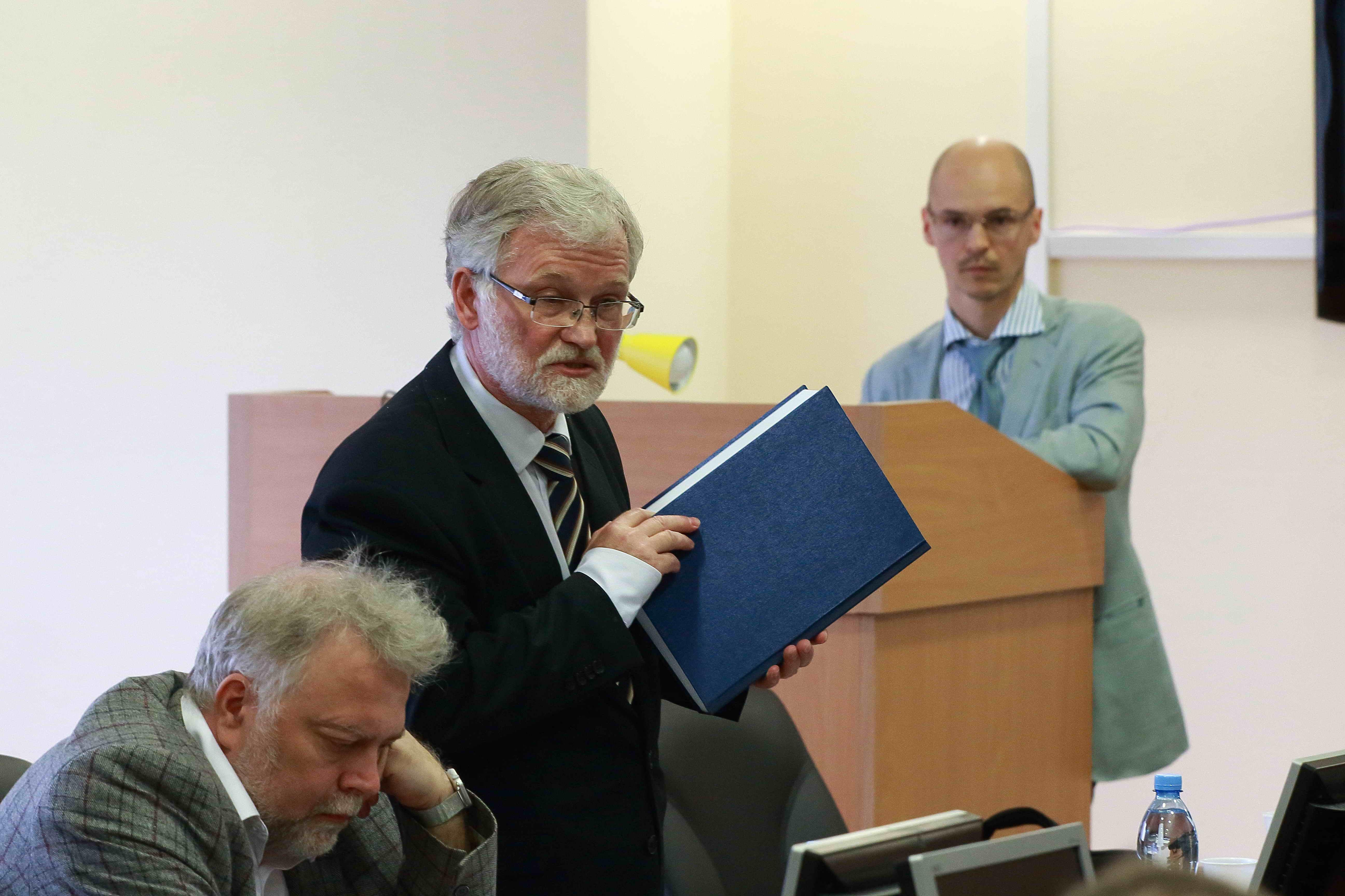 Защита докторской диссертации Д В Волкова Философский факультет  view the full image